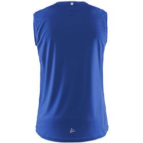 Craft Mind Hardloopshirt zonder mouwen Heren blauw